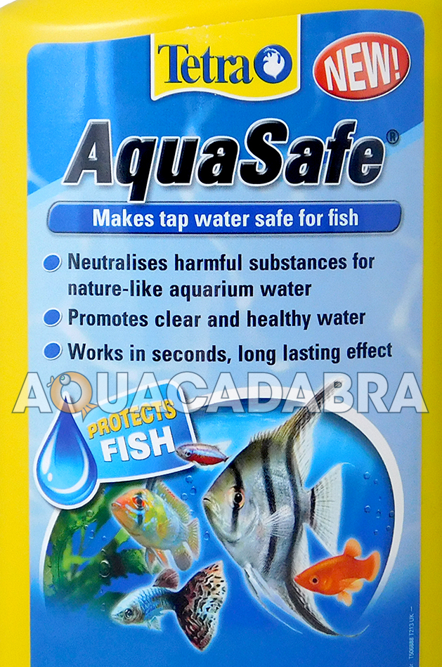 tetra aquasafe 500ml tap water conditioner treatment
