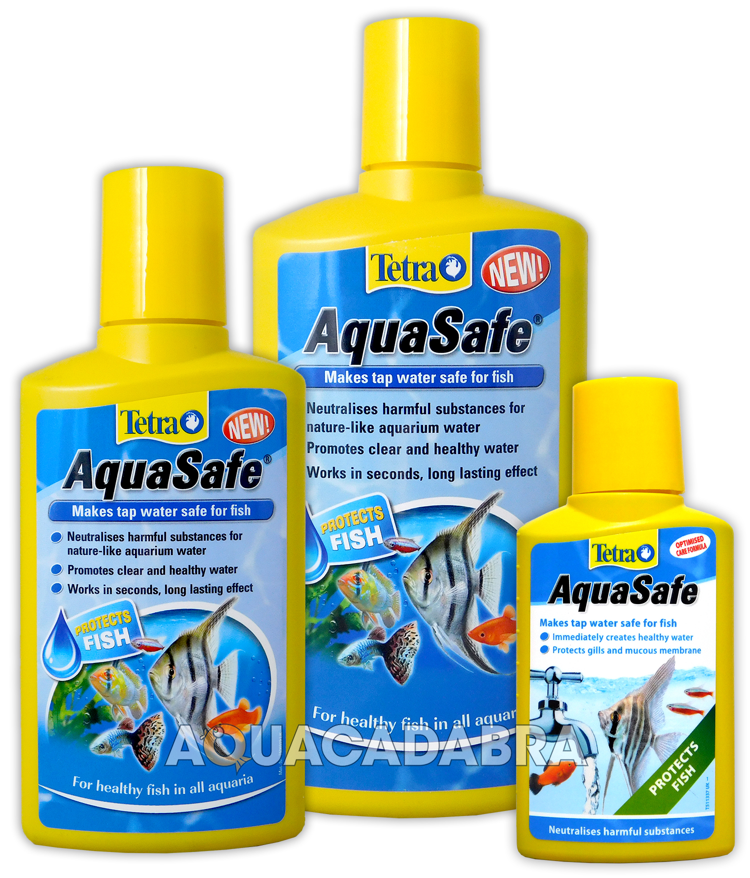 Tetra aquasafe 100ml 250ml 500ml 5l 5 litre fish tank tap for Water conditioner for fish tank