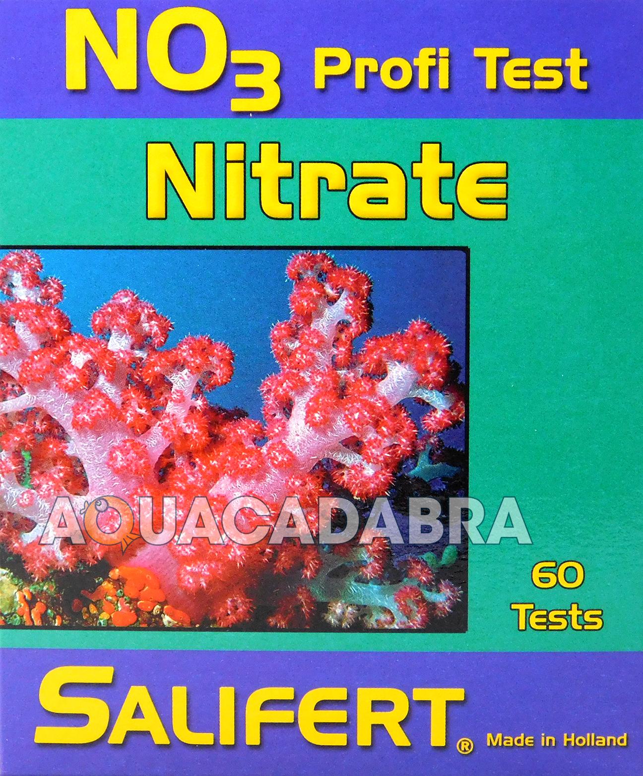 Salifert nitrate no3 profi test kit marine reef fish tank for High nitrite in fish tank
