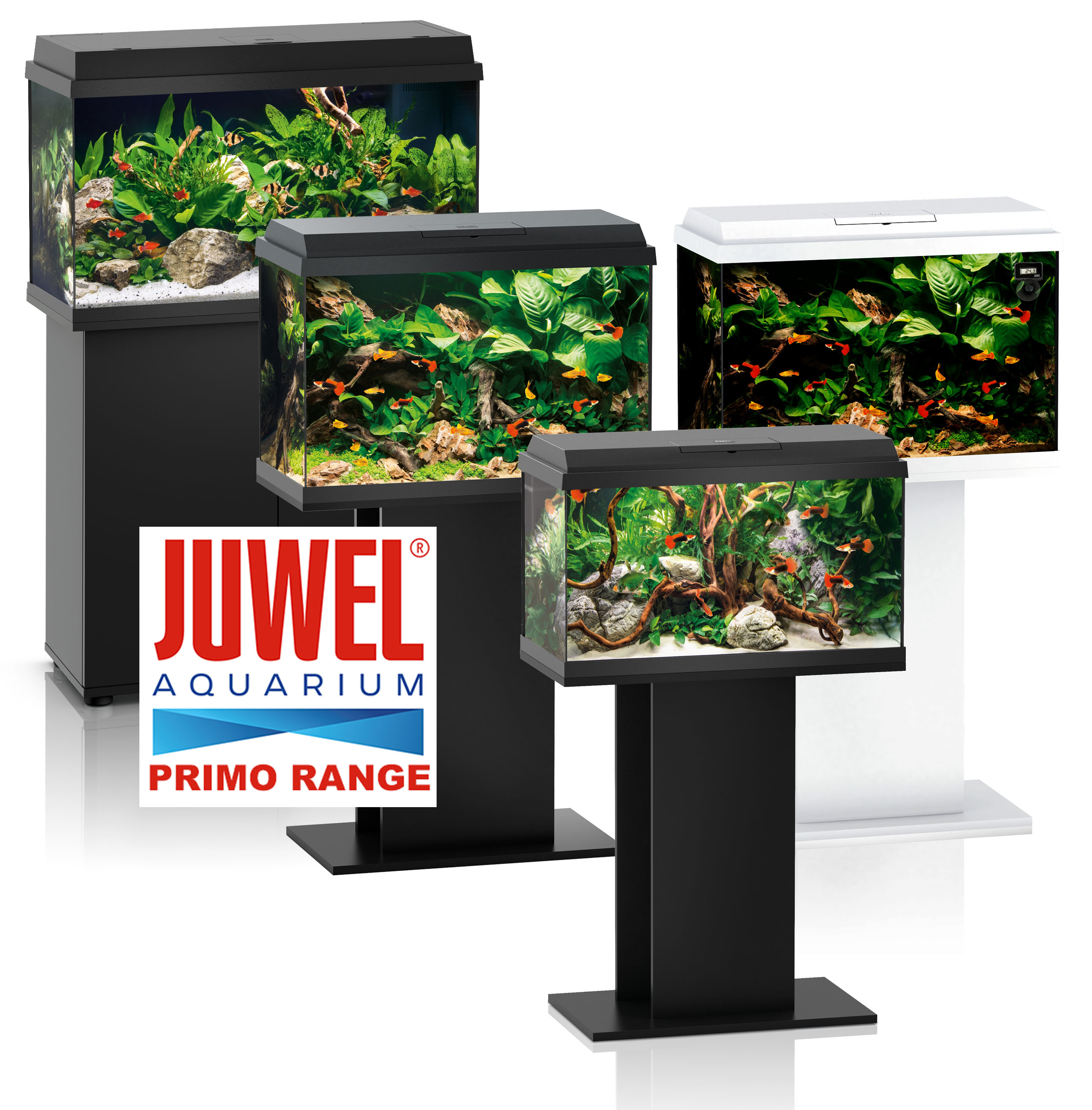 Juwel aquarium fish tank cabinet rio trigon vision vio for Fish tank lighting