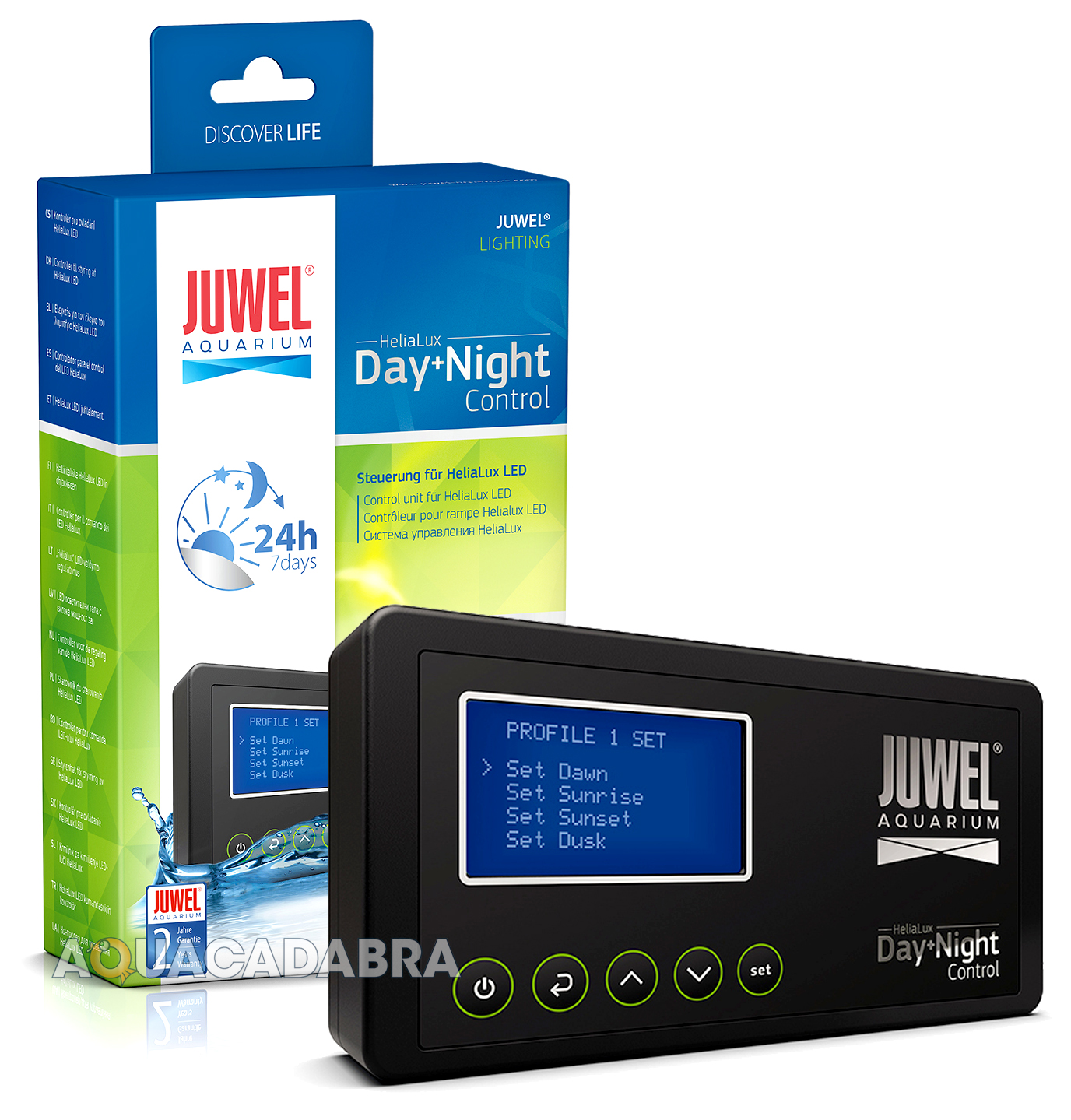 Fish tank light timer - Juwel Helialux Controller Led Lighting Day Night Timer Control Aquarium Fish