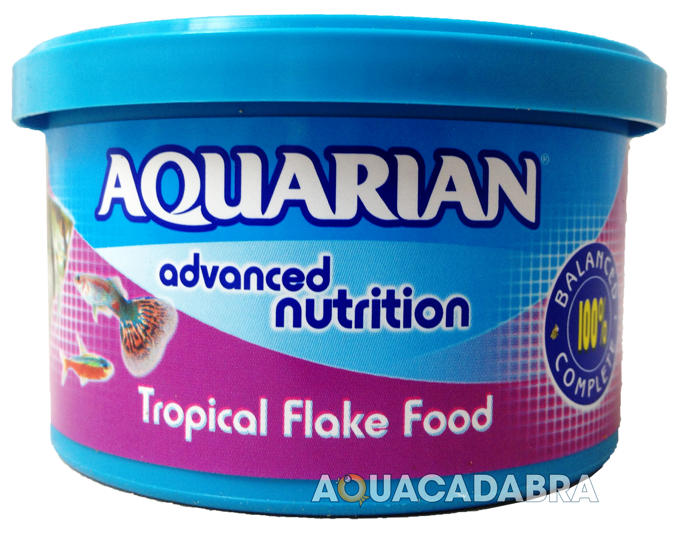 Genuine aquarian tropical fish flake food 25g 50g 200g for Aquarium fish food