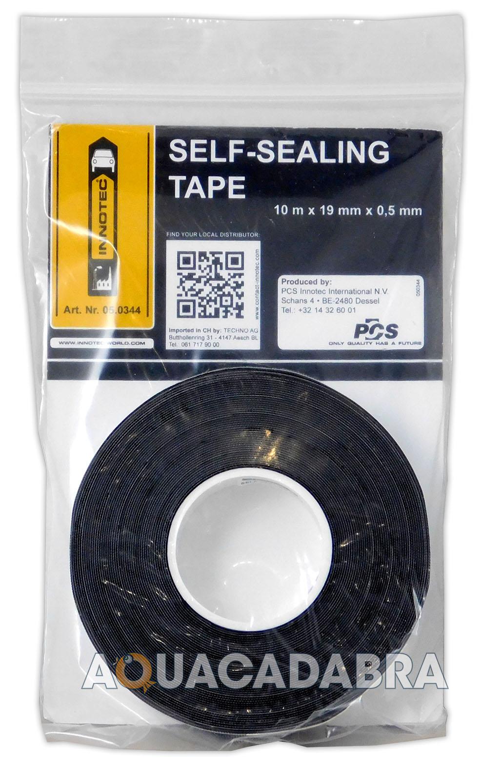 Innotec self sealing tape black m waterproof fish pond
