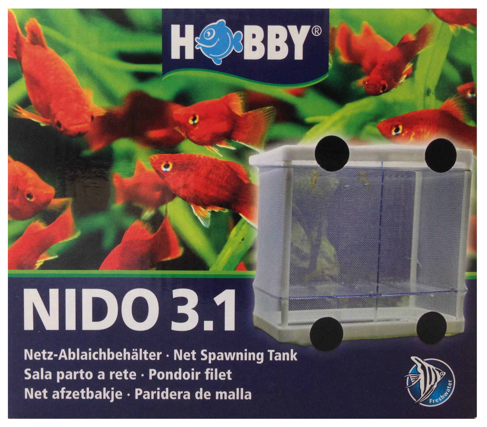 Aquarium fish tank fry net breeder breeding hatchery - Hobby Nido Breeding Tank Spawning Hatchery Baby Fry Trap Net Aquarium Fish Tank