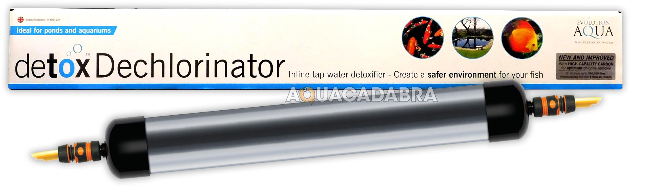 Evolution Aqua Detox Dechlorinator Carbon Garden Pond Koi