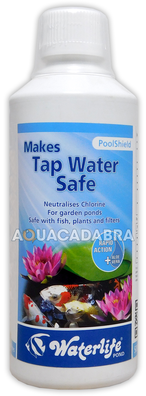 WATERLIFE-POOLSHIELD-250ml-500ml-1L-LITRE-TAP-WATER-SAFE-DECLORINATOR-FISH-POND