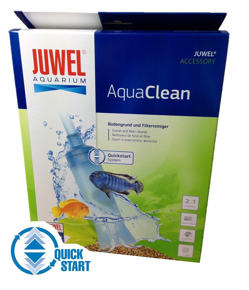 Juwel aqua clean aquarium fish tank gravel cleaner -