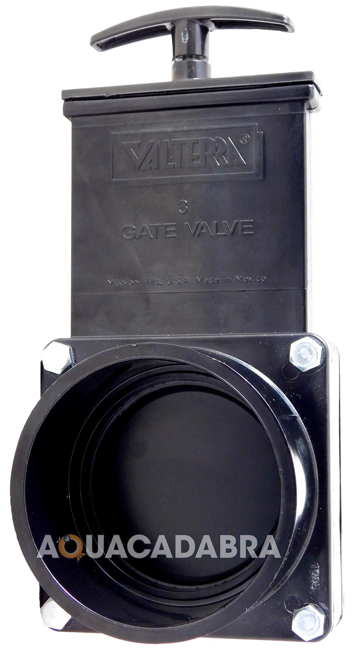 genuine valterra outlet pipe slide gate valve koi fish On pond filter pipe