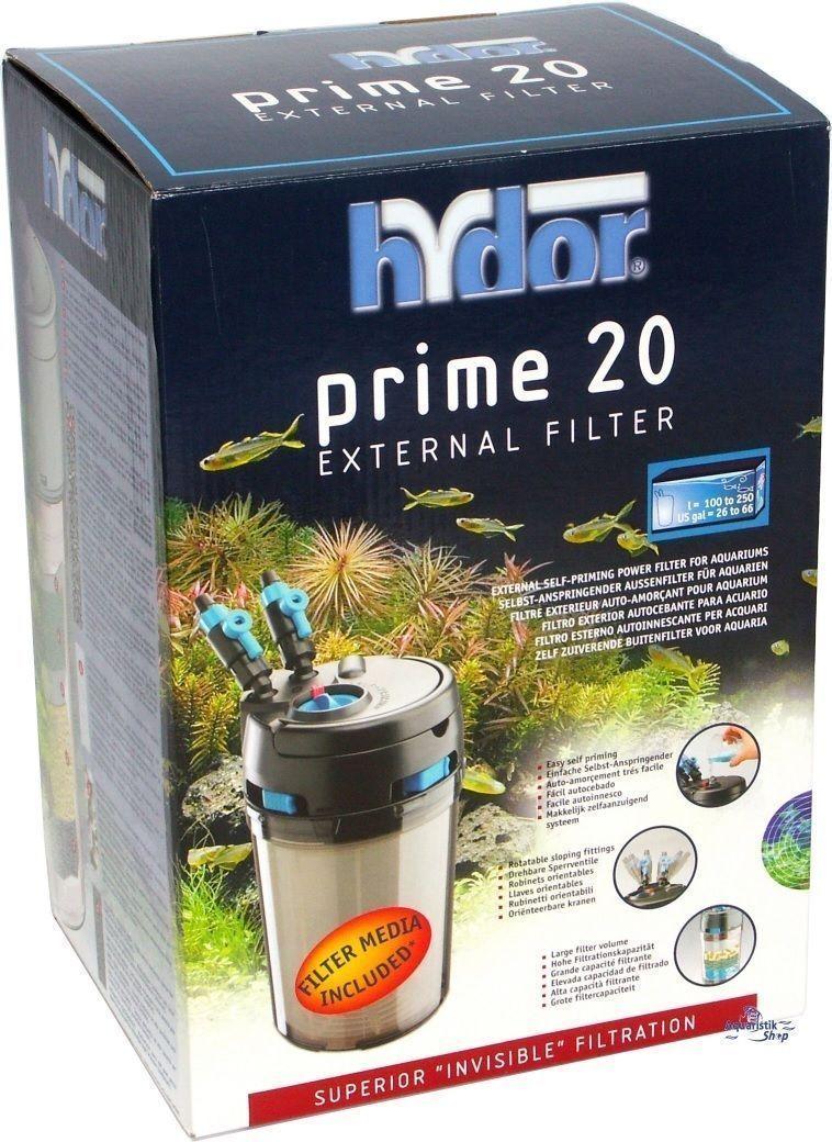 Hydor Prime 20 External Aquarium Canister Fish Tank Filter