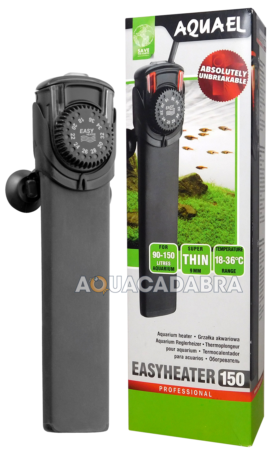 Aquarium fish tank ebay - Aquael Easy Heaters Advanced 17 36 C Easy