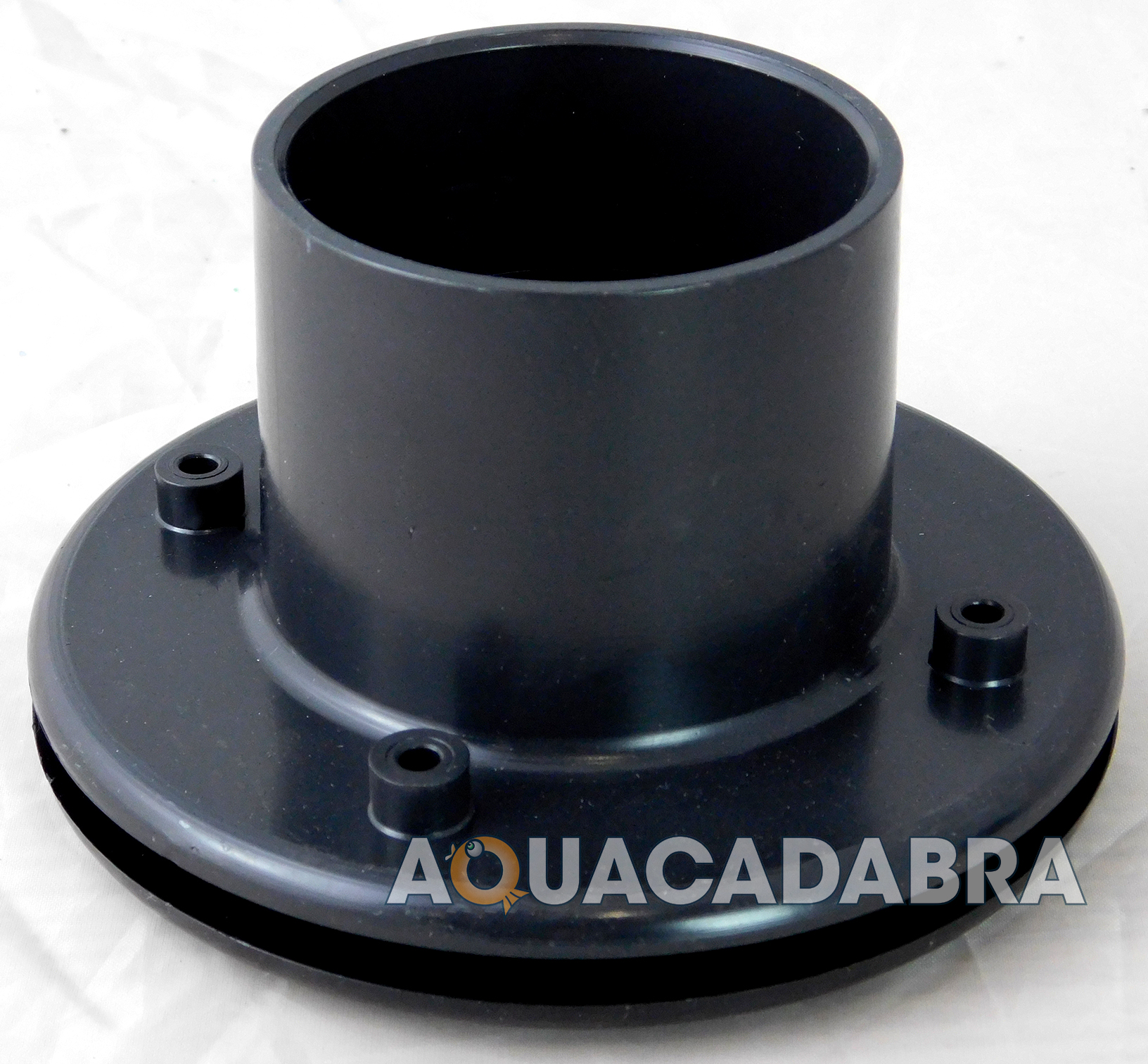 Solvent weld flanged tank liner connector koi pond filter