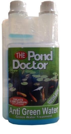 Tap pond doctor anti green water algae treatment garden koi fish uvc filter safe ebay Green fish pond water