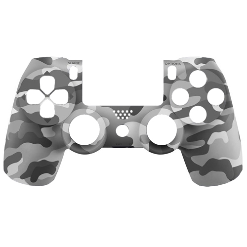 Zedlabz Replacement Oem Front Housing Shell Face For Sony Ps4 Playstation 4 Controllers - Urban Camo