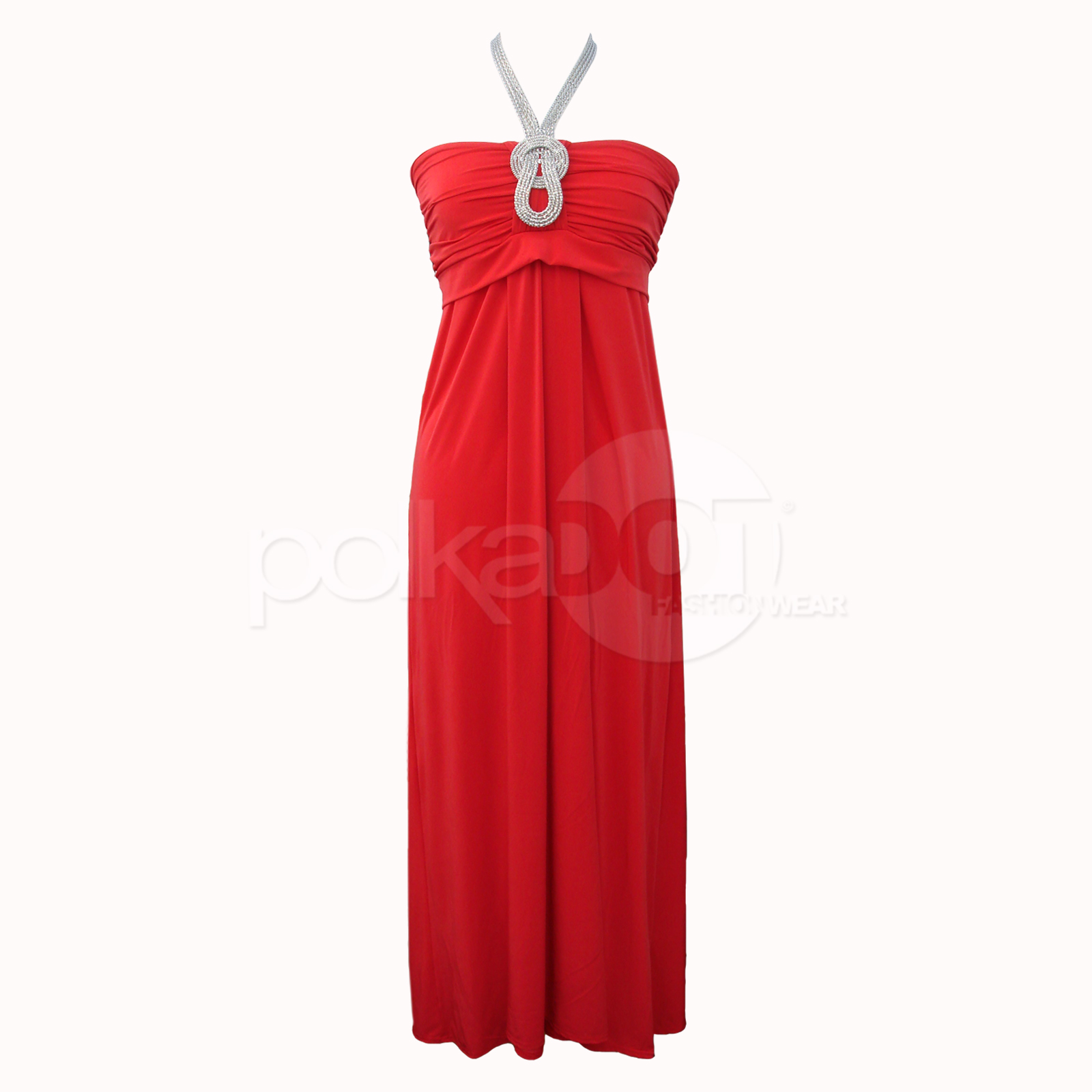 New long elegant glamorous necklace evening wedding party for Maxi dresses for wedding party