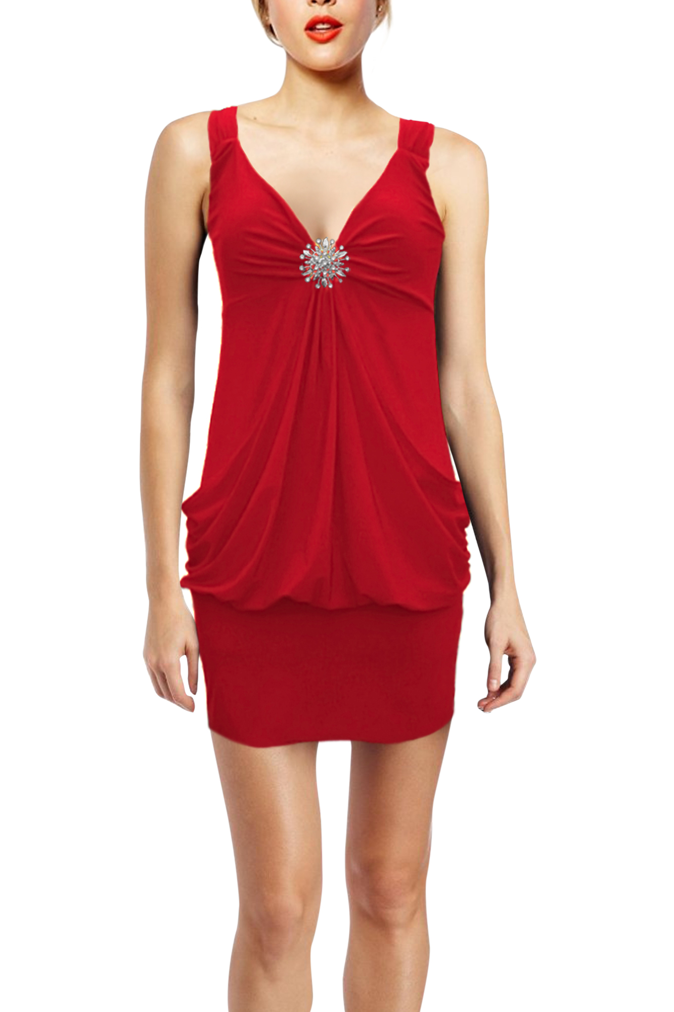 New Stunning Cocktail Party Clubwear Evening Dress Baggy ...