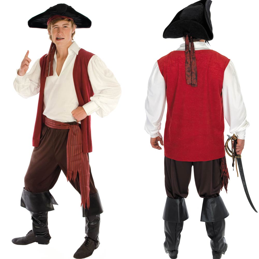 d guisement hommes femmes pirate costume des cara bes. Black Bedroom Furniture Sets. Home Design Ideas