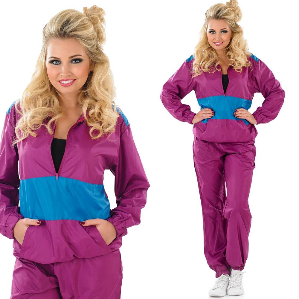 Shell-Suit-Fancy-Dress-Costume-Mens-Ladies-80s-  sc 1 st  eBay & Shell Suit Fancy Dress Costume - Mens / Ladies 80s 90s Chav ...
