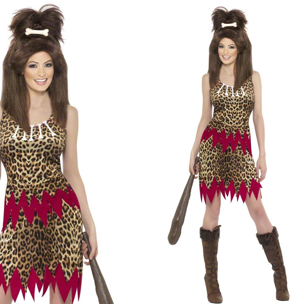 Cavewoman Costume Makeup - Mugeek Vidalondon