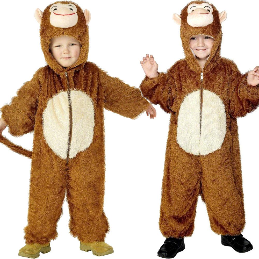 CHILDRENS-ZOO-FARM-JUNGLE-ANIMAL-SUIT-FANCY-DRESS-COSTUMES-BOYS-GIRLS-KIDS