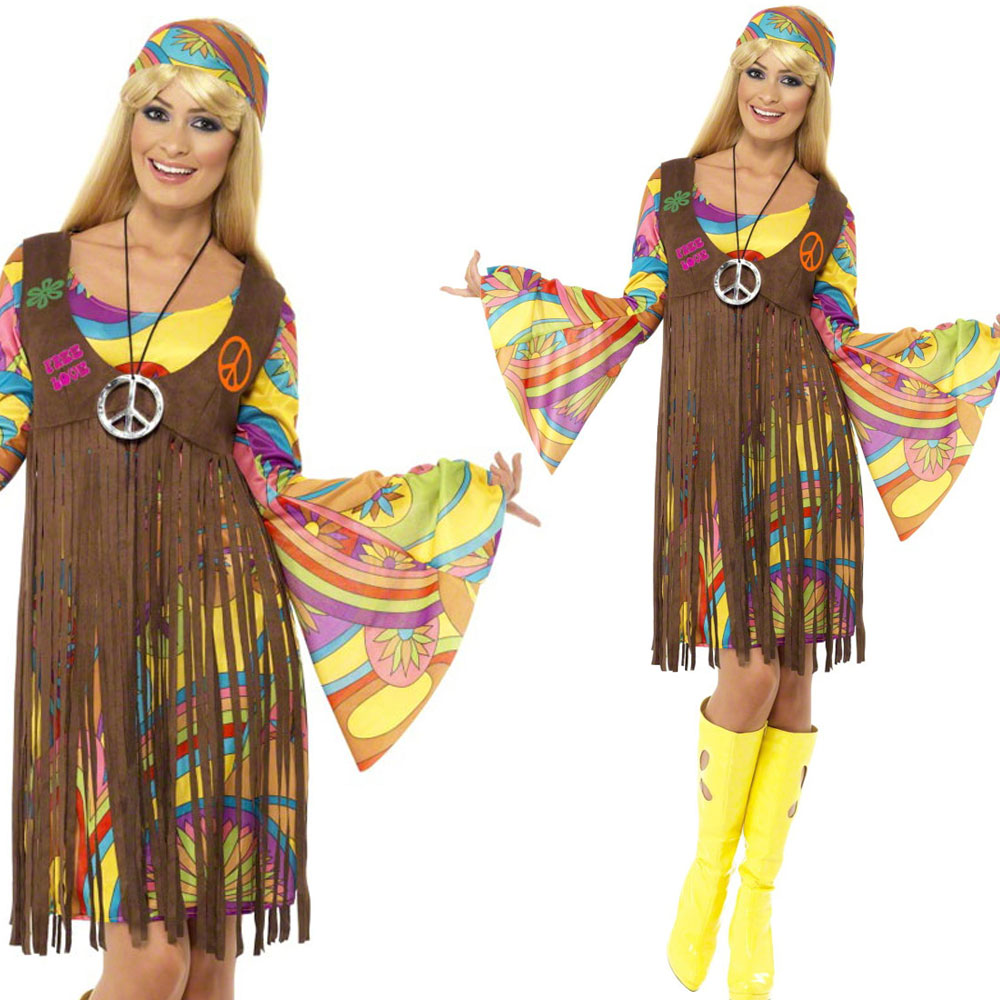 Hippie clothing for women