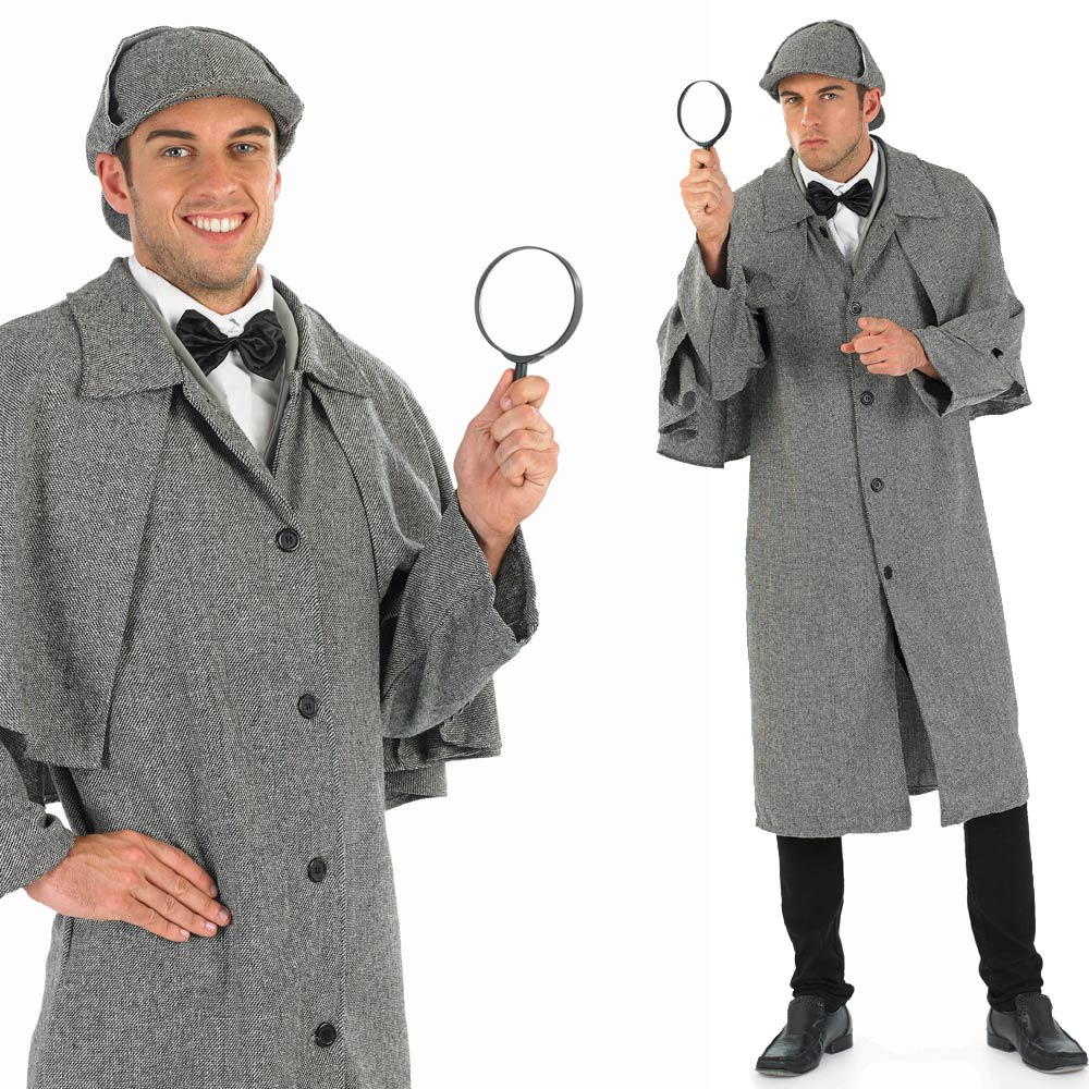 Mens-Detective-Fancy-Dress-Costume-Victorian-Film-Book-Outfit
