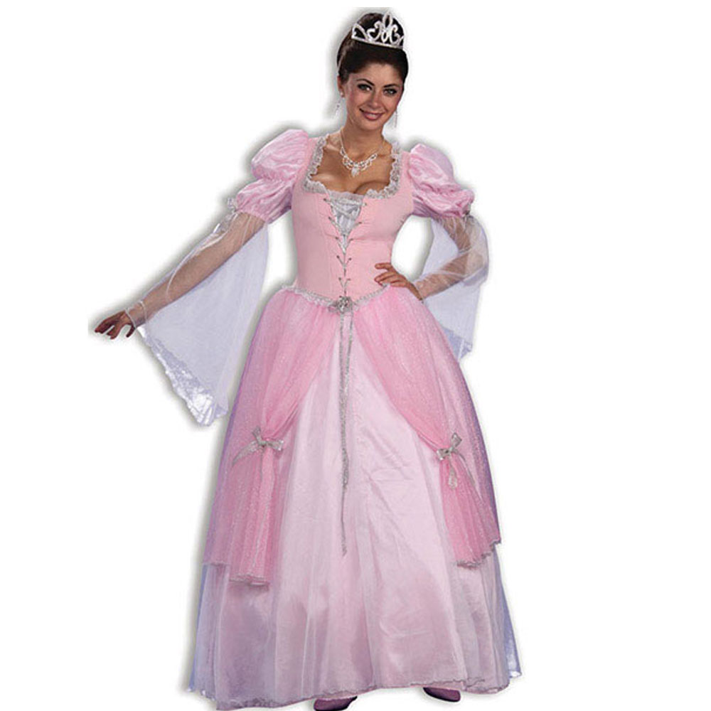 Womens-Fairytale-Fancy-Dress-Ladies-Fairy-Tale-Princess-Costume-Accessories