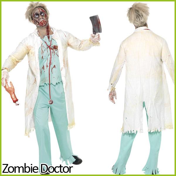 zombie kost m verkleidung halloween erwachsene herren damen horror ebay. Black Bedroom Furniture Sets. Home Design Ideas