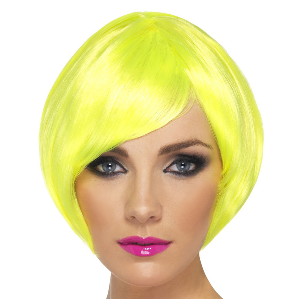 Yellow And Pink Wig 49