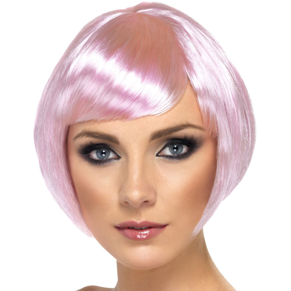 Yellow And Pink Wig 110