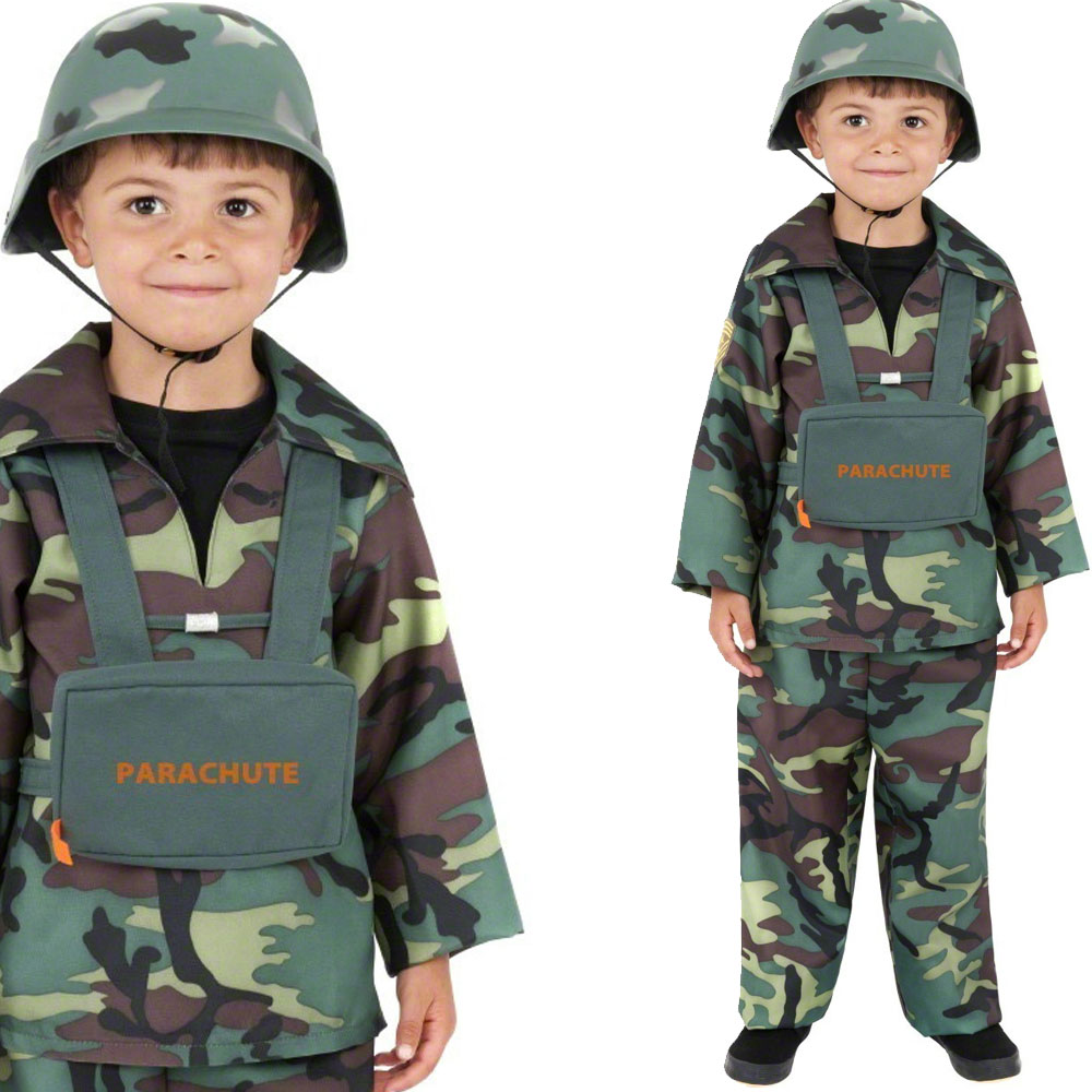 Toy Soldiers For Boys : Boys army toy soldier boy childrens kids fancy dress