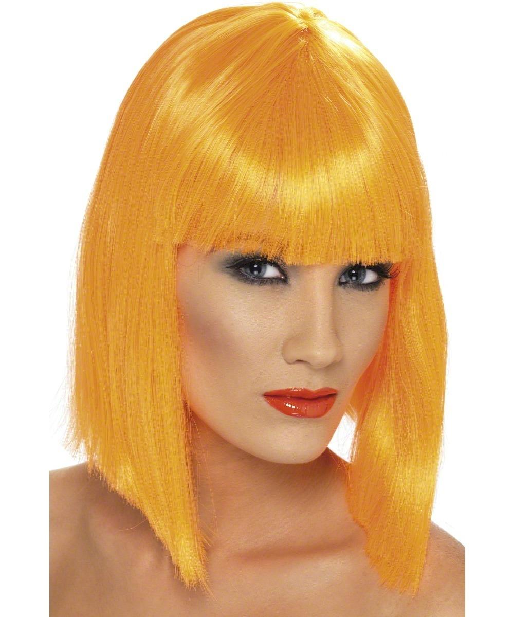 Pink And Orange Wig 10