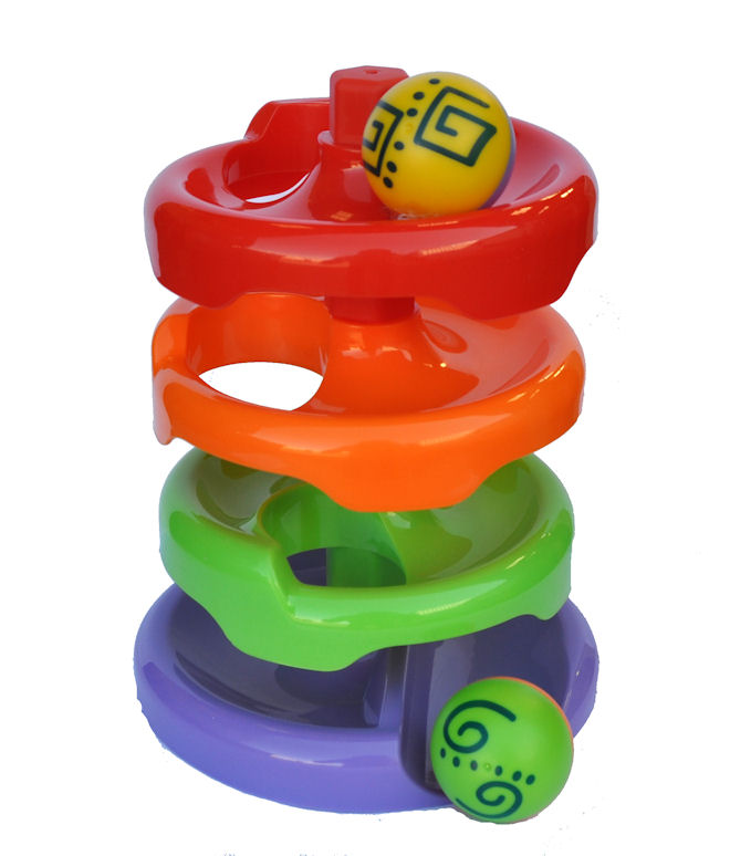 Ball Drop Toy : Funtime spin n drop ball runner baby toddler activity toy