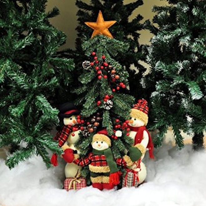 New Artificial Christmas Trees 4ft 5ft 6ft Green Black ... - photo#45