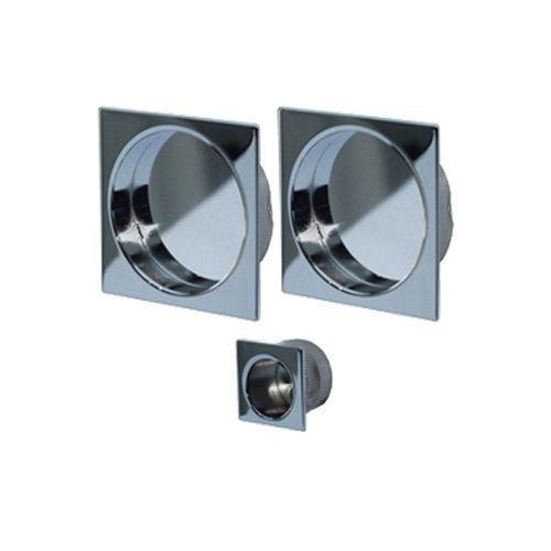 Jv823 Square Flush Pull Handle Set For Pocket Doors