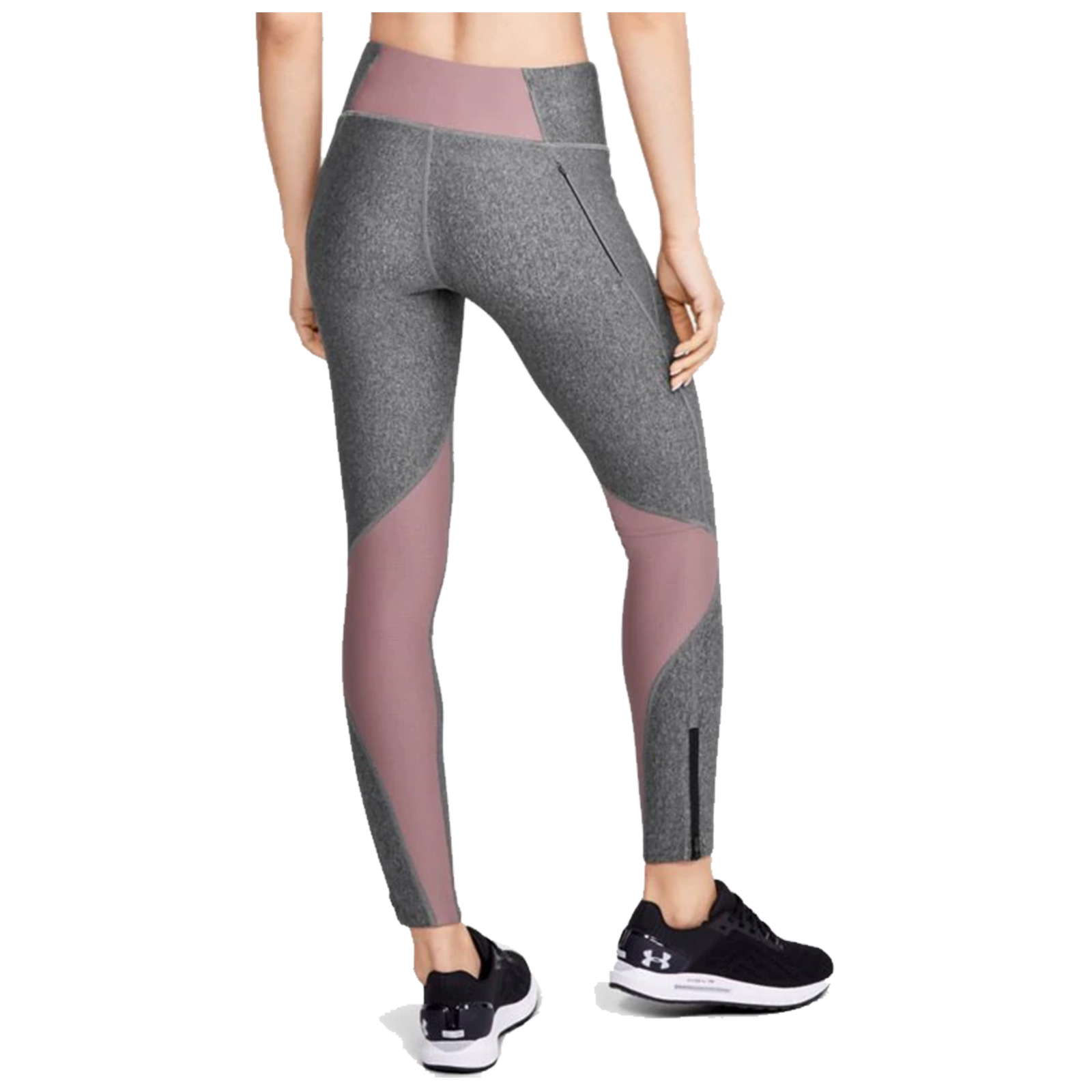 2020 Under Armour Ladies FlyFast Legging High Waist Compression Ankle Zip Pocket