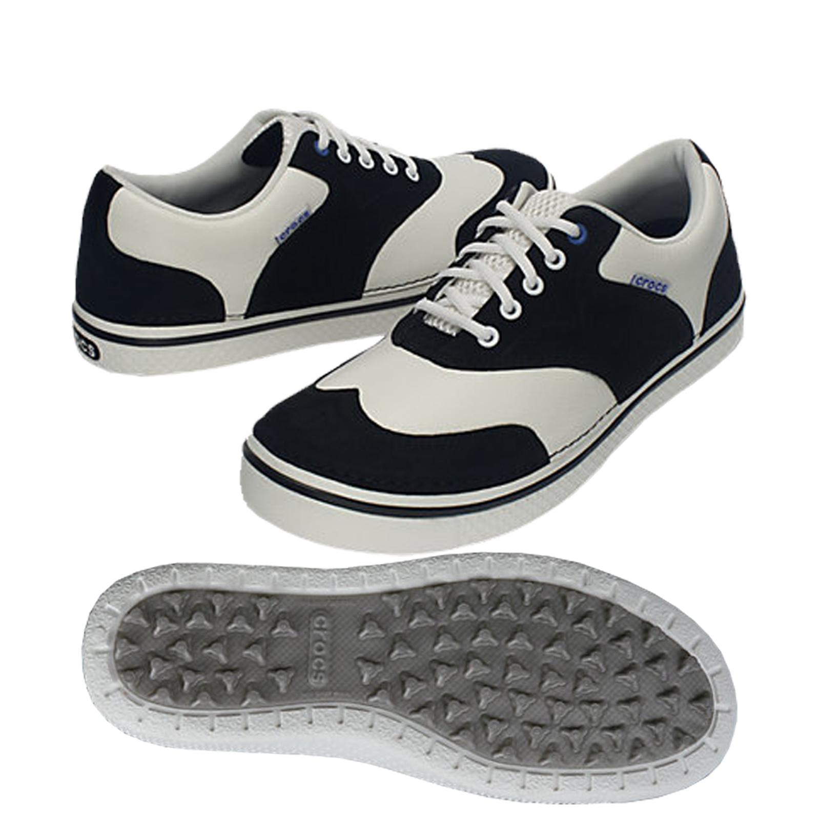 Crocs Preston Men S Golf Shoe Grey Pictures To Pin On