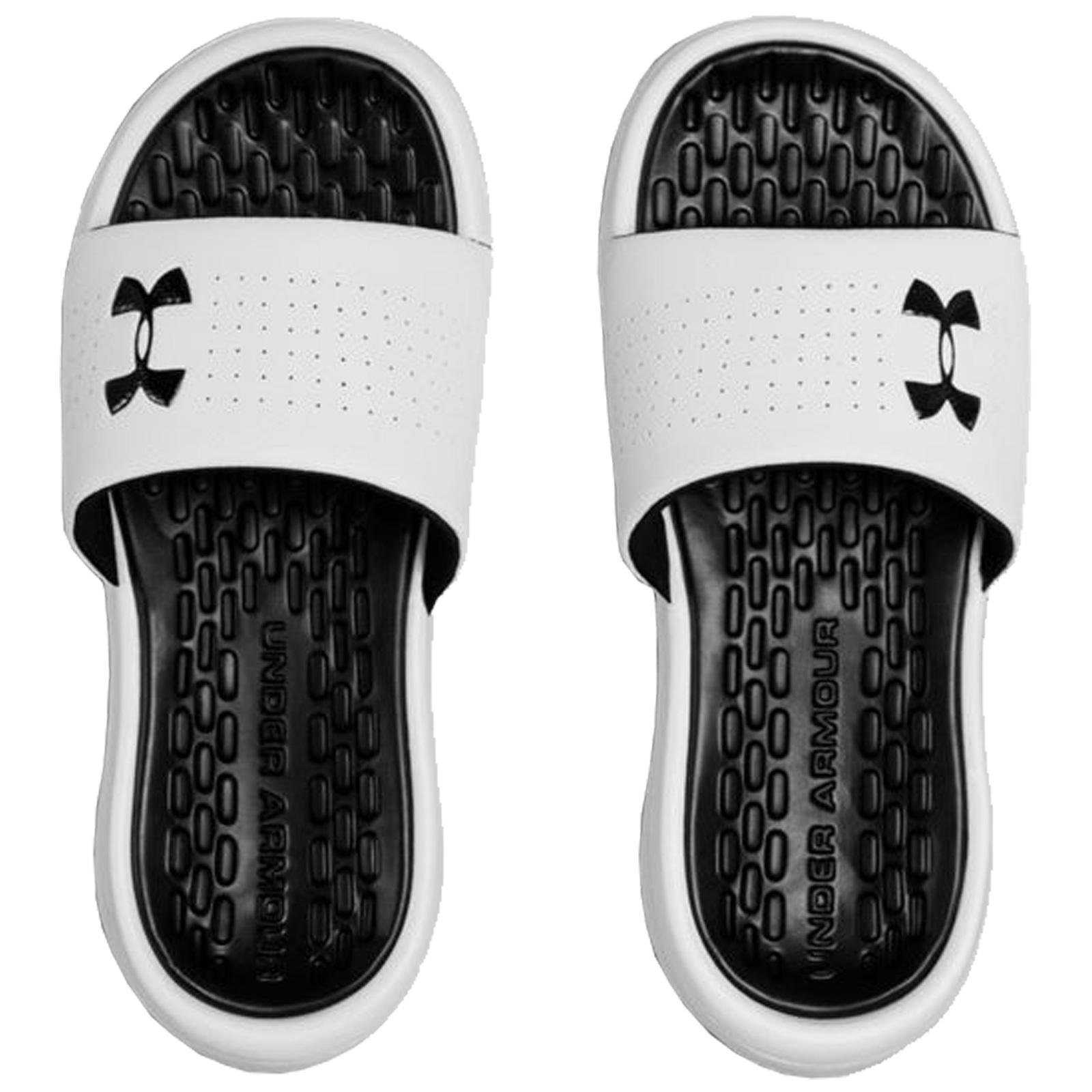 UA Kids Boys Sandals Flip Flops Summer Under Armour Junior Playmaker Slides