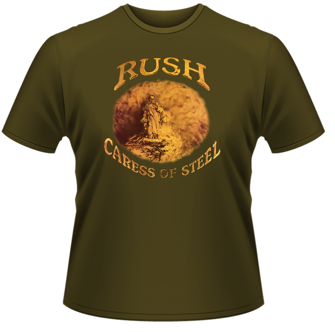 Rush-Caress-Of-Steel-T-Shirt-NEW-OFFICIAL