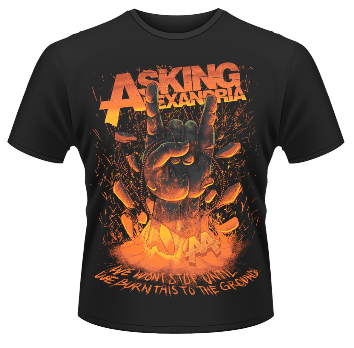 Asking-Alexandria-Metal-Hands-T-Shirt-NEW-OFFICIAL