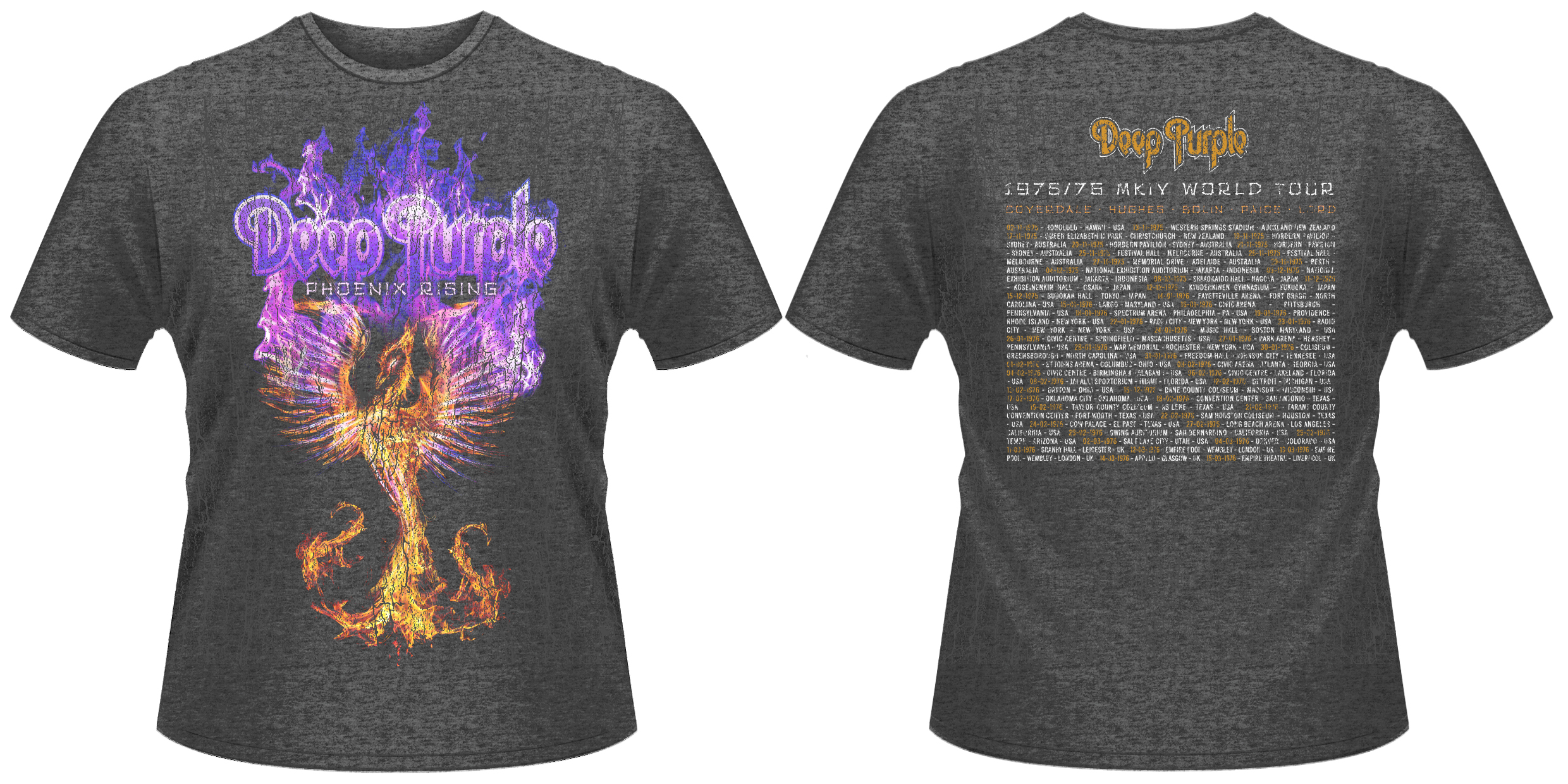 Deep Purple 'Phoenix Rising' T-Shirt