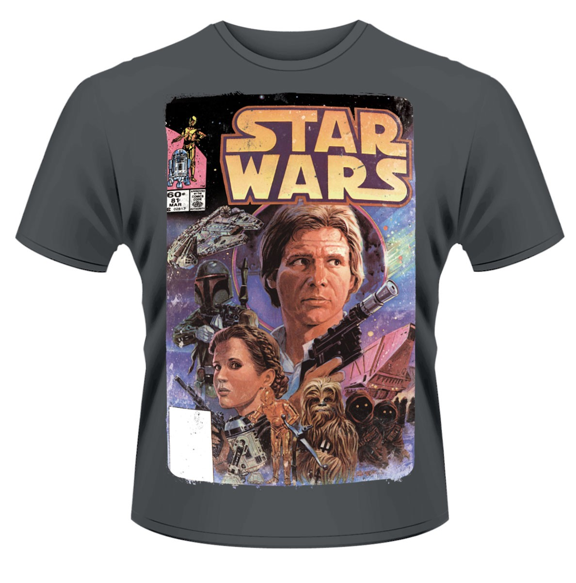 Star Wars 39 Comic 39 T Shirt New Official Ebay