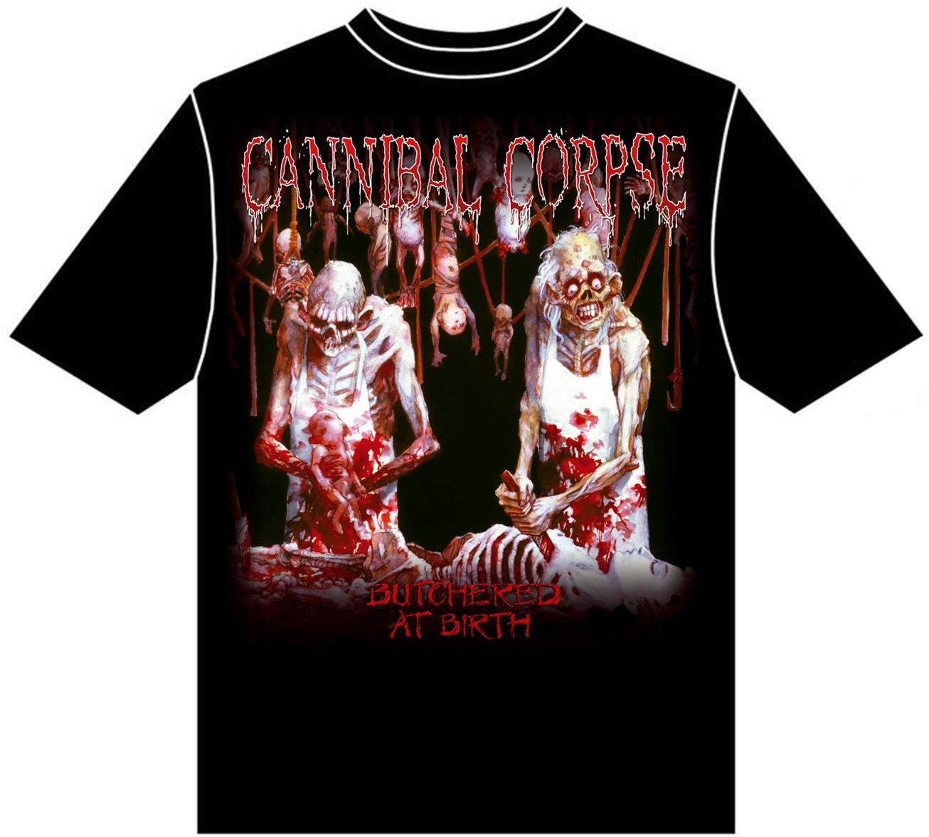 Cannibal-Corpse-Butchered-At-Birth-T-Shirt-NEW-OFFICIAL