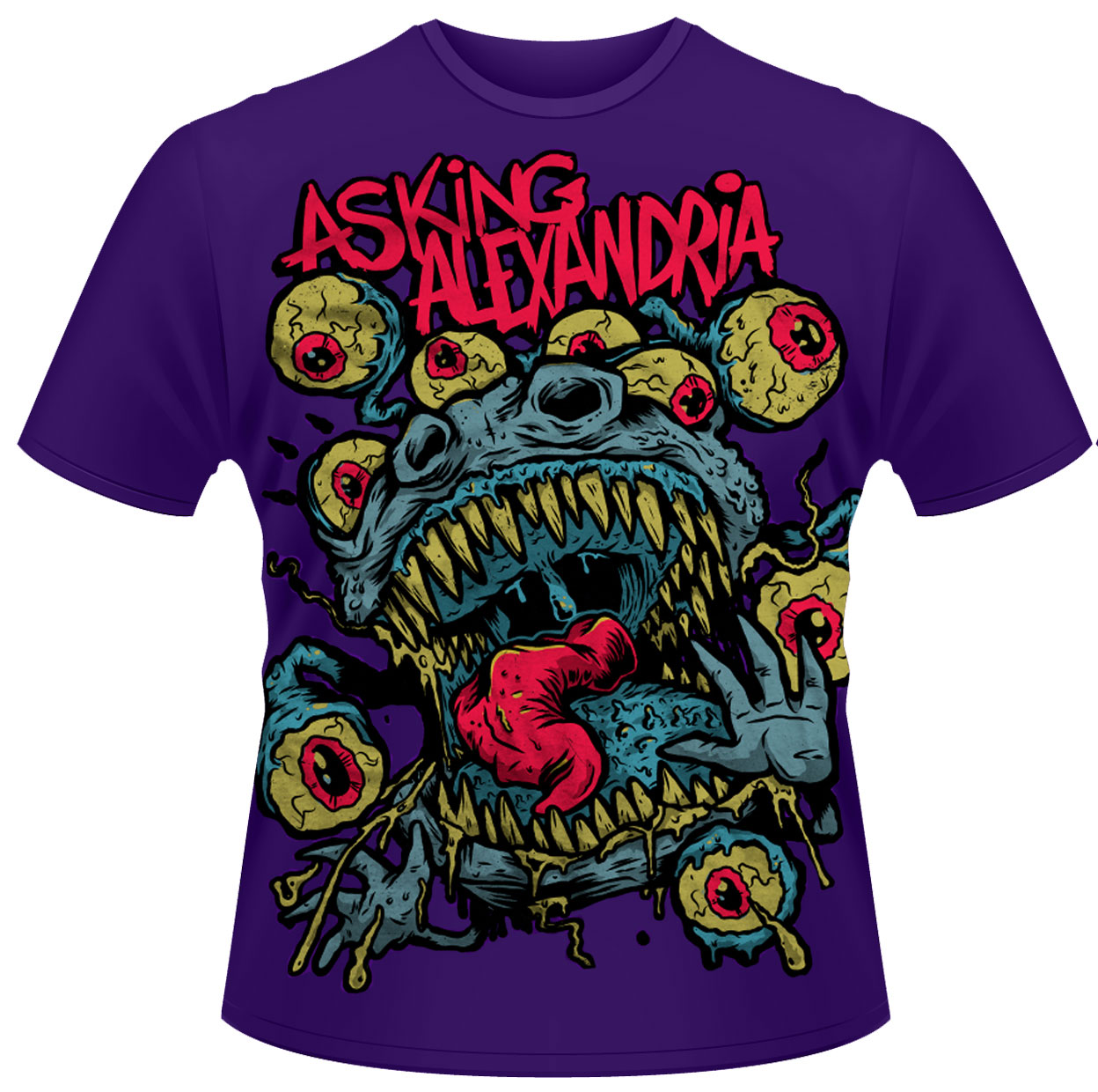 Asking Alexandria 'Eyeballs' T-Shirt - NEW & OFFICIAL!