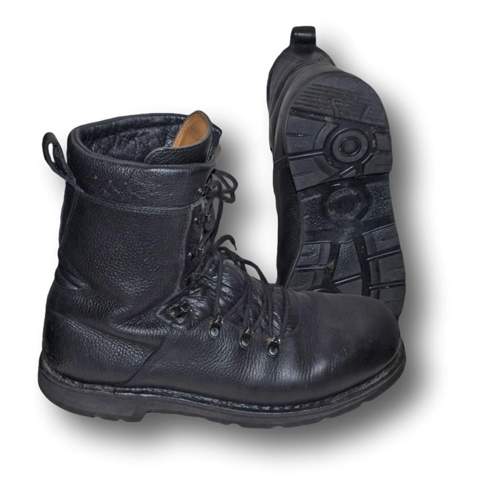 german army para boots genuine surplus black