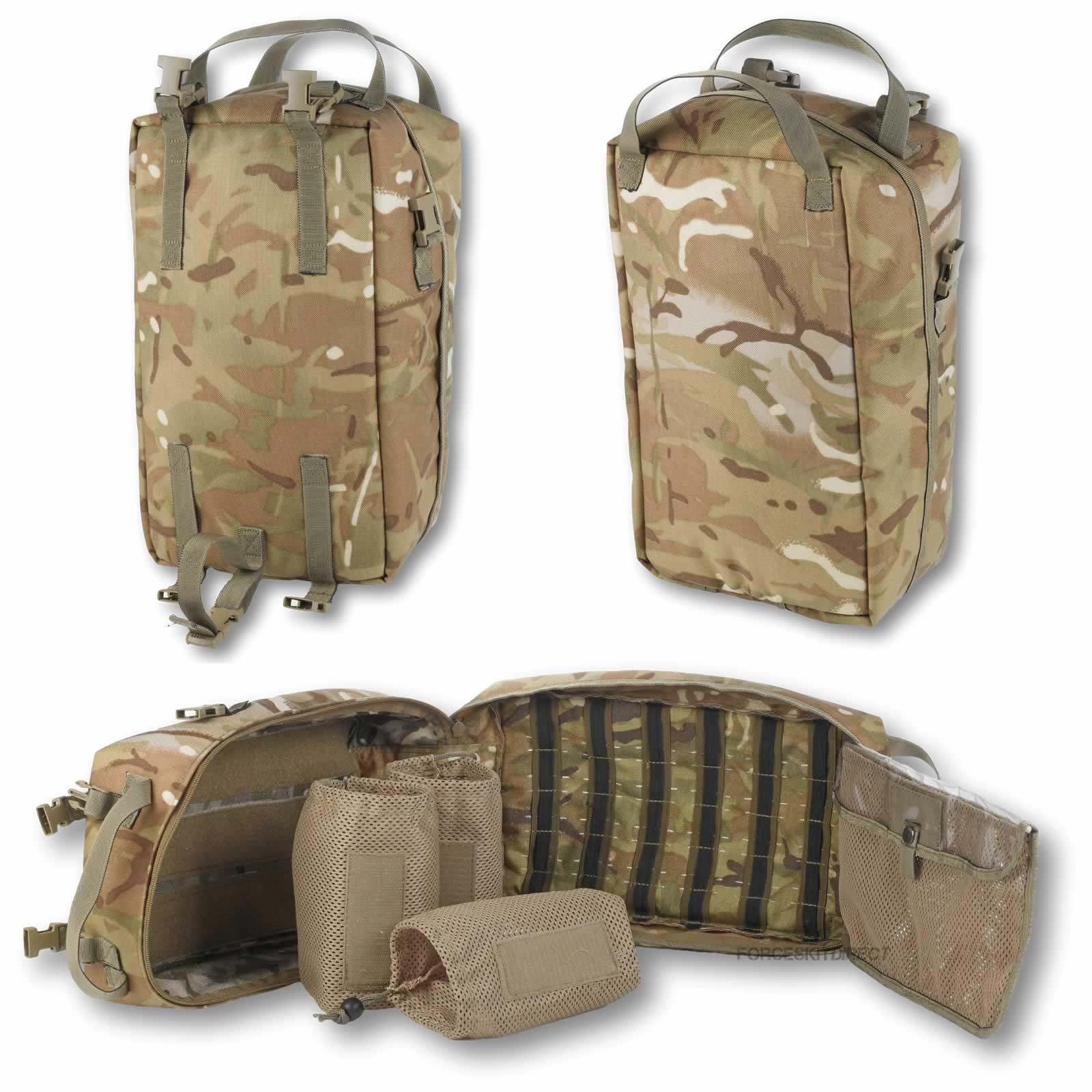 British Army Medics Side Pouch Pocket Medical Trauma Bag
