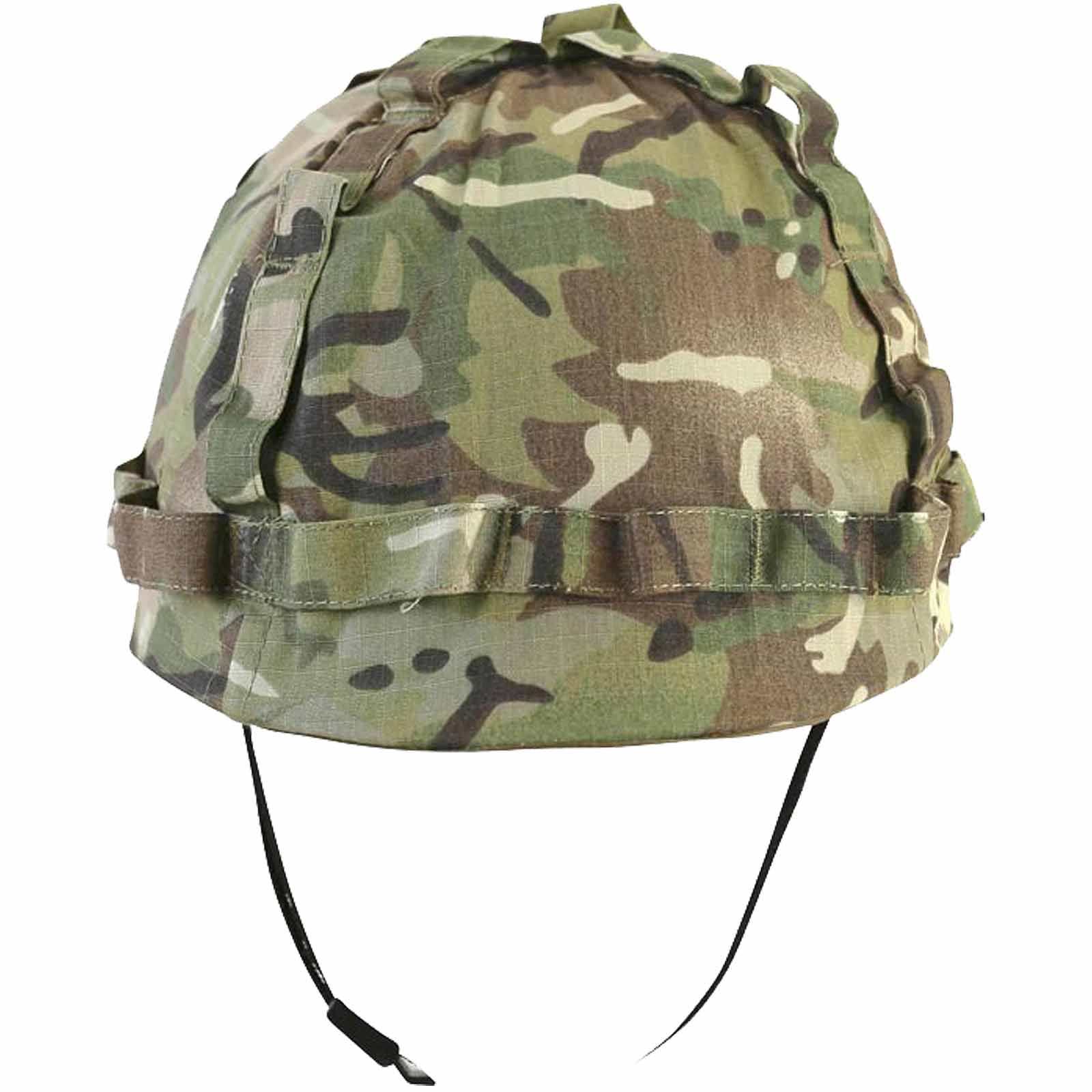 kids boys army plastic m1 helmet british camo style