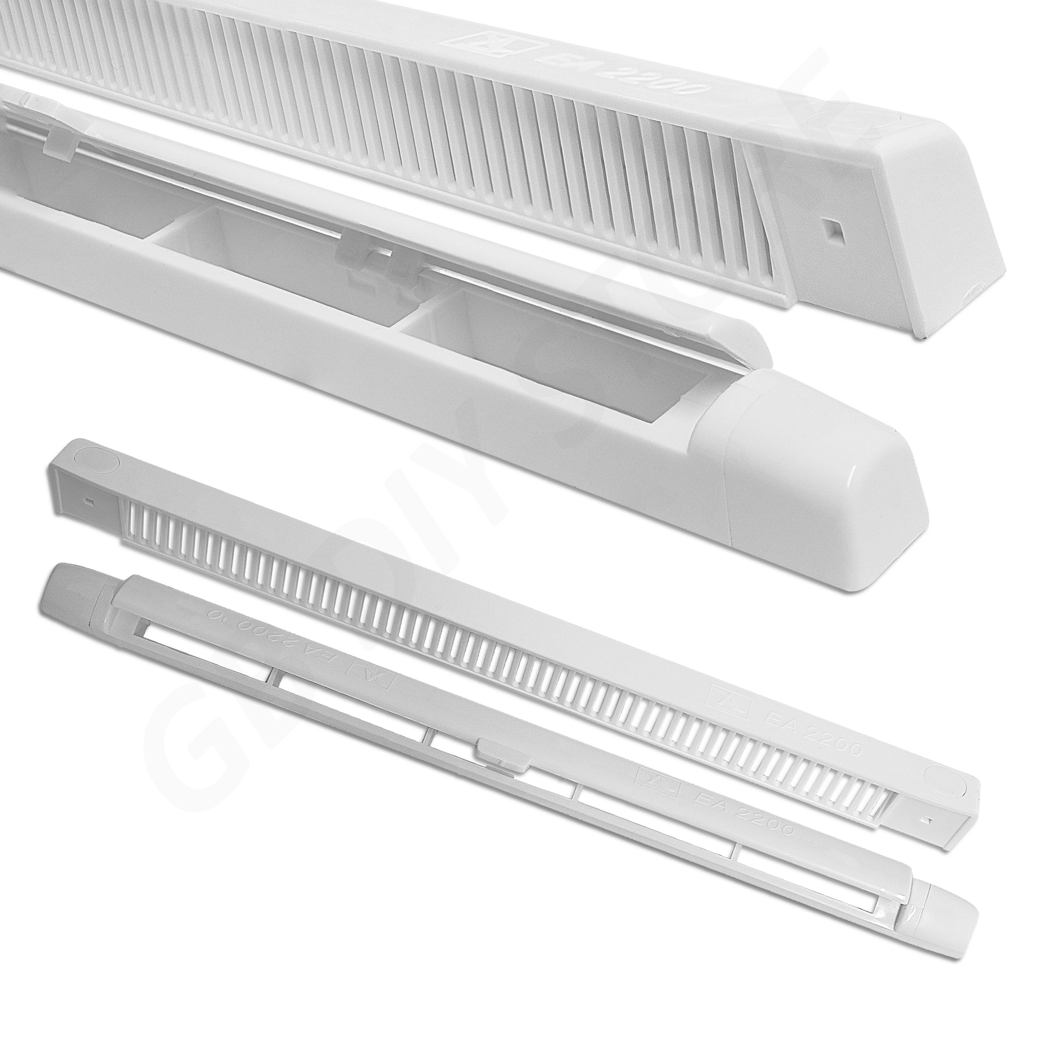 Double Glazed Ventilation : Trickle slot vent for upvc double glazing window reduces