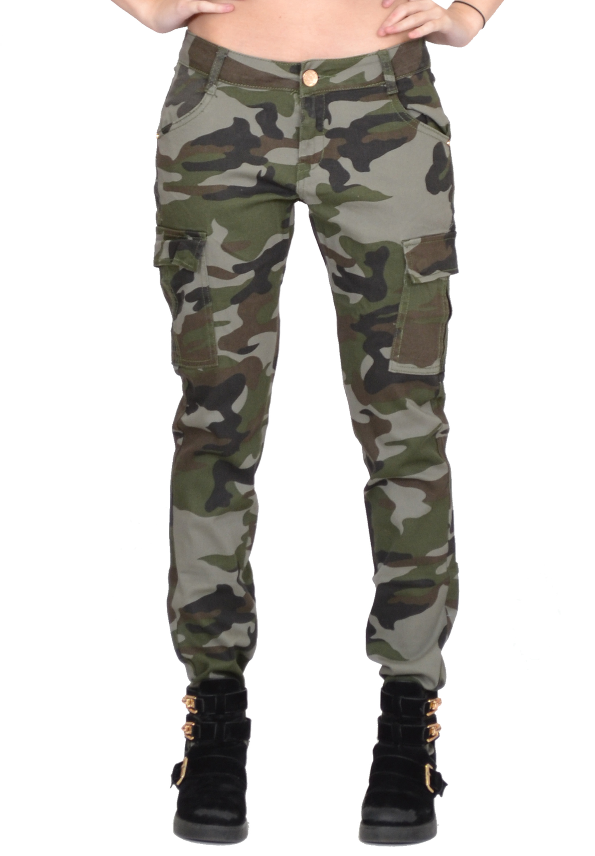 At Army Surplus World, we carry a selection of women's pants. Our women's pants selection includes vintage military style pants, capri pants, camo shorts, and more. Shop in stores and online today for affordable women's wear.