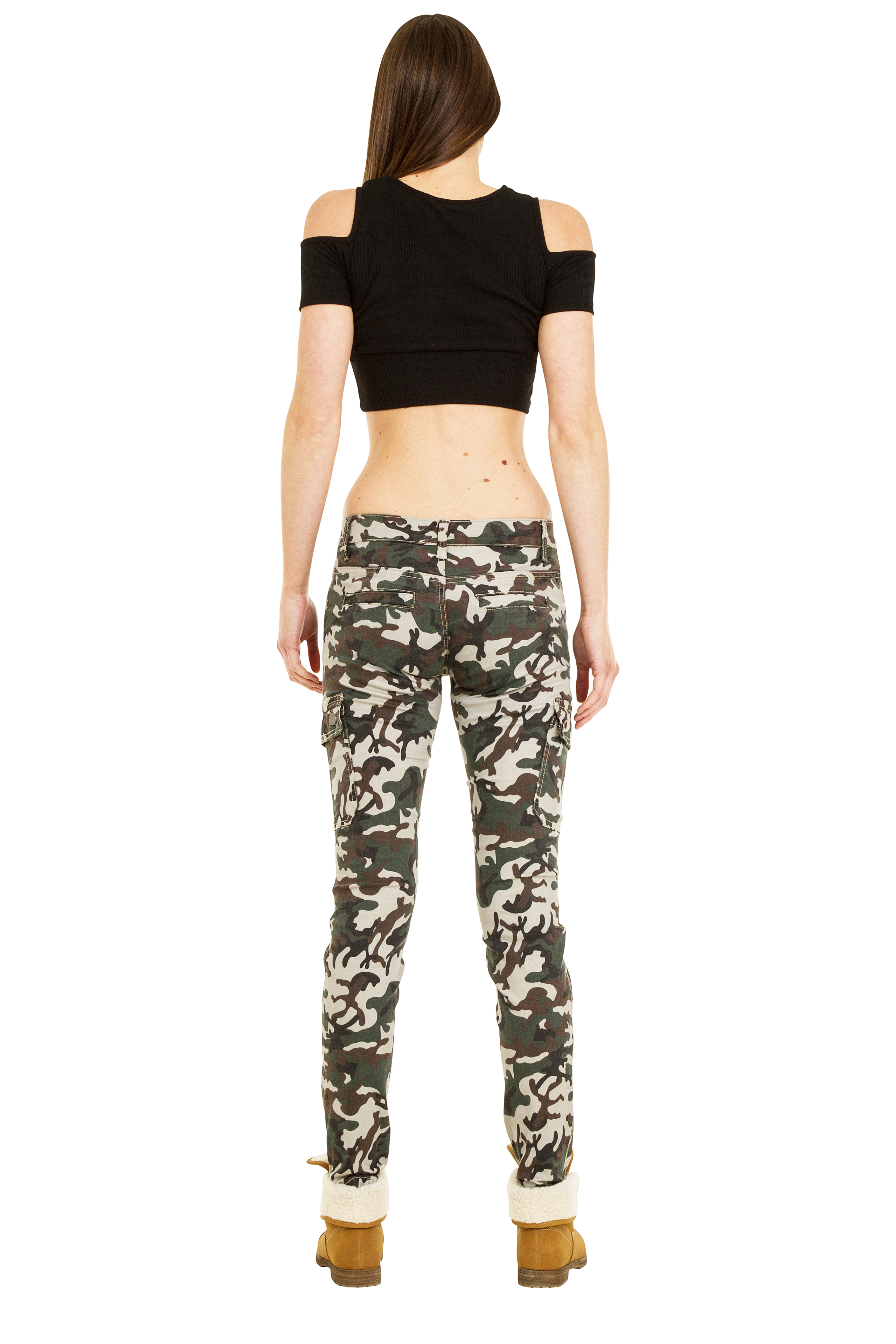 Womens Low Rise Cargo Pants With Amazing Inspiration