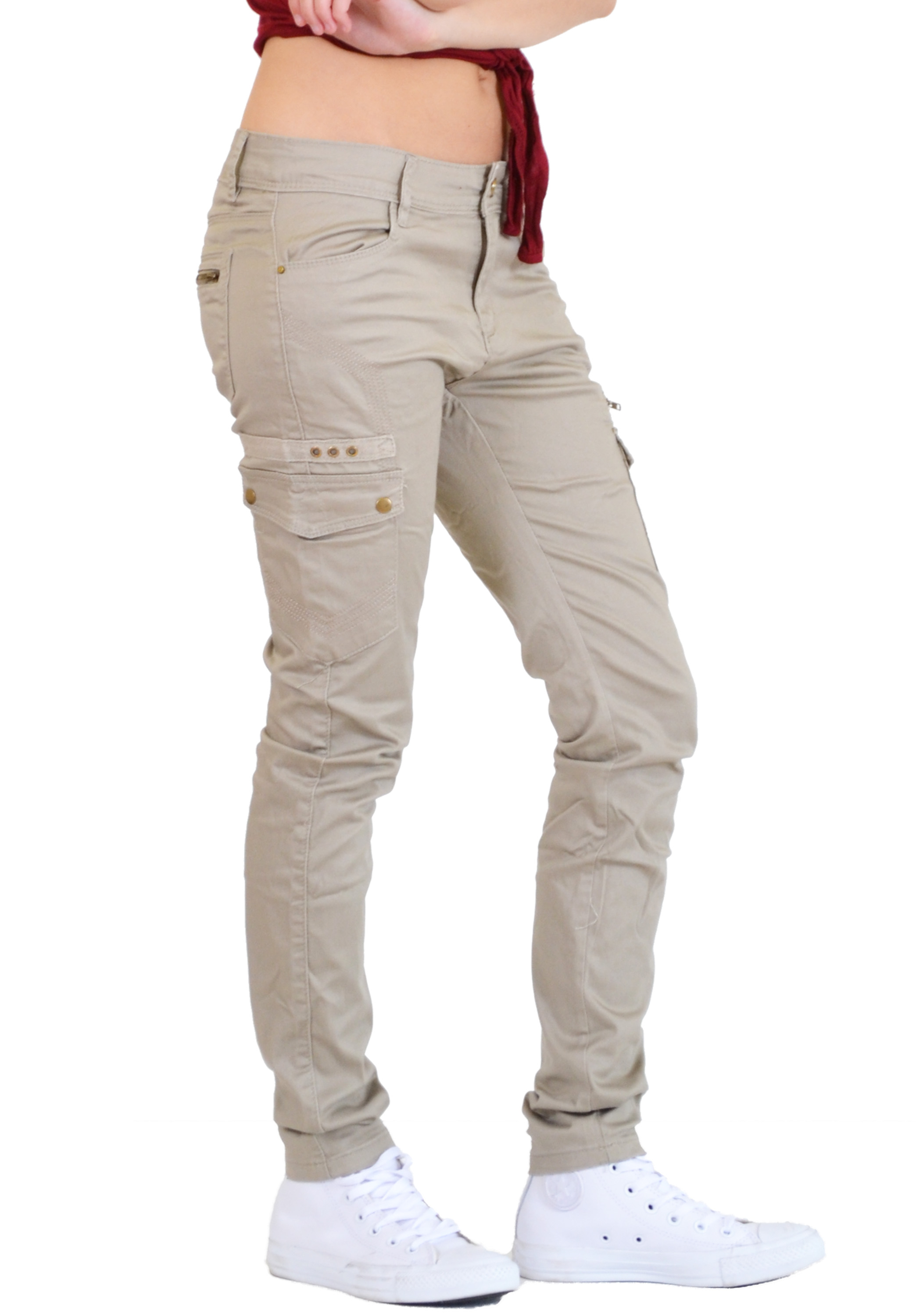 Model Fitted Cord Cargo Pant  Womens Clothes Fashion Tops Dresses Online